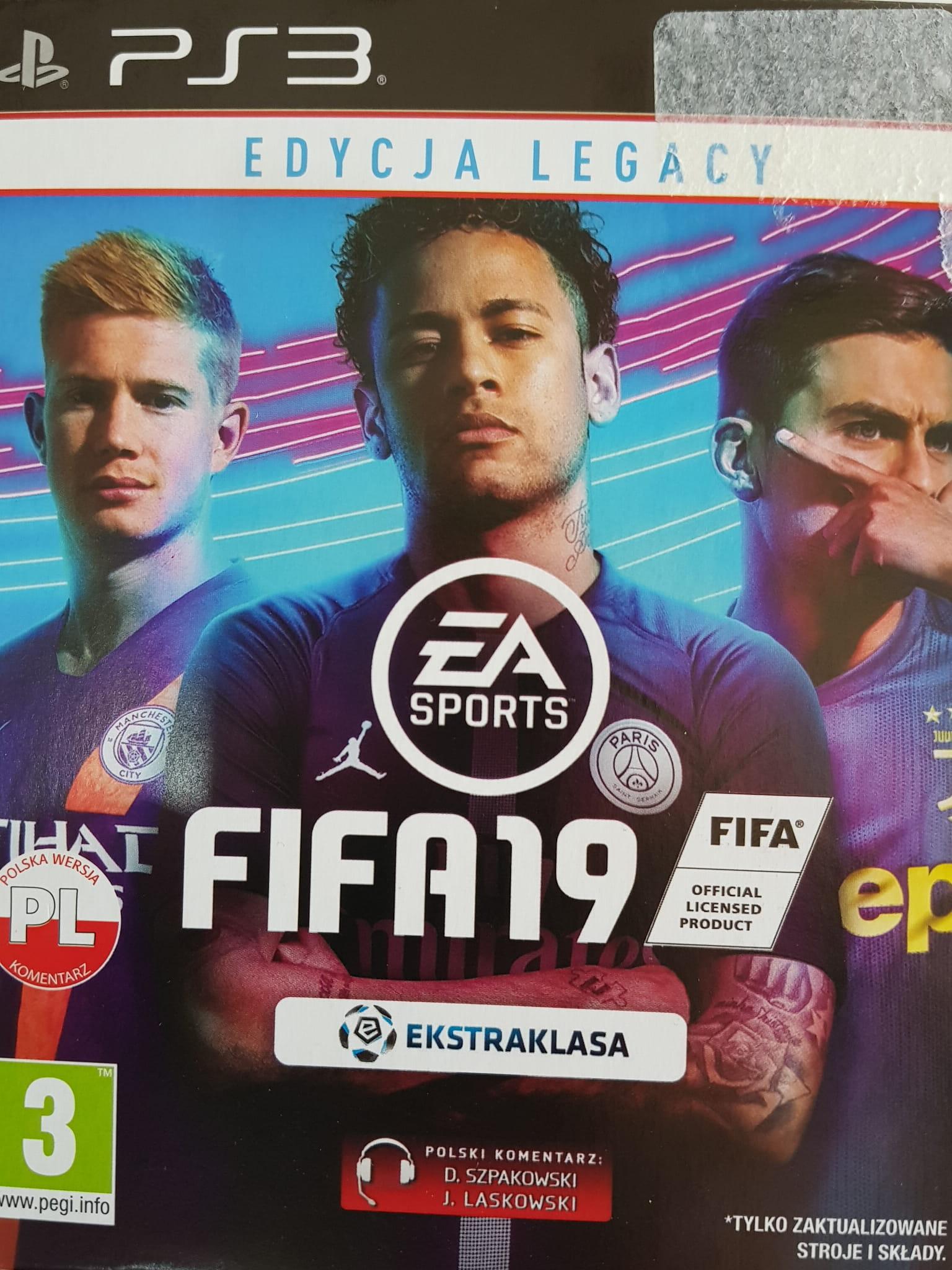 Fifa 19 Pl Ps3 Nowa W Bak Game Skup Konsol