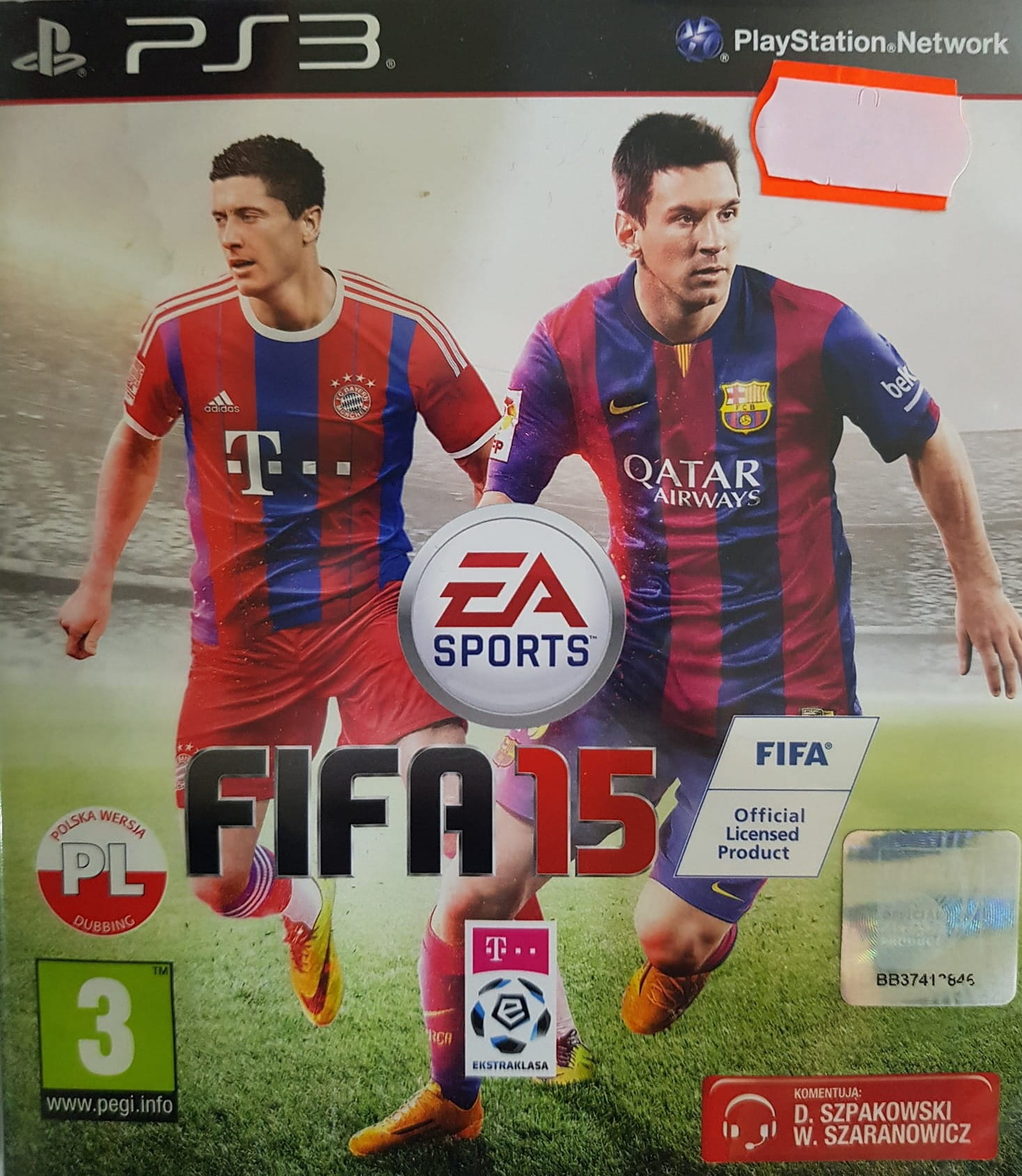 Fifa 15 Pl Ps3 Uzywana W Bak Game Skup Konsol